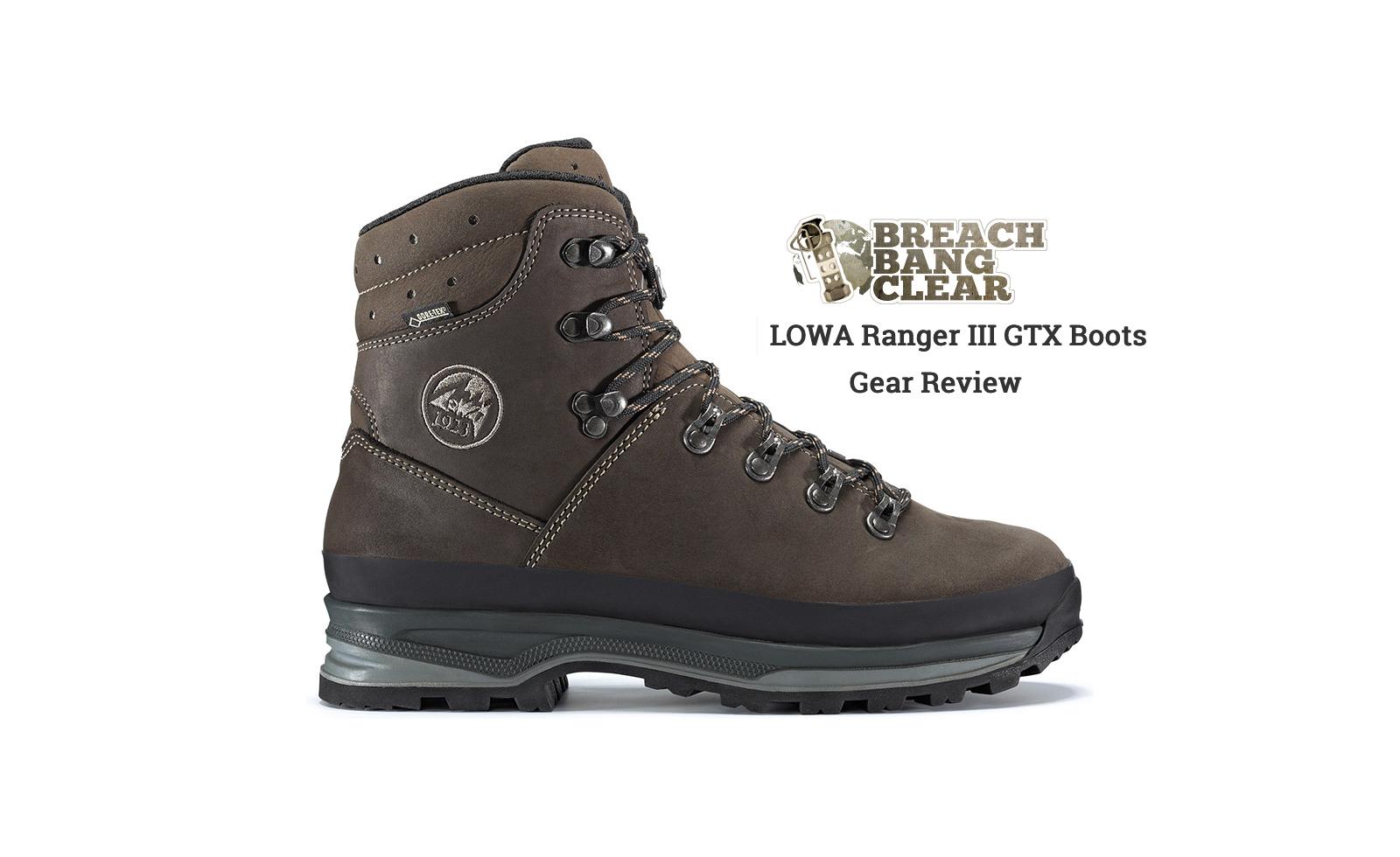 Gutscheincodes Modestil von 2019 preisreduziert LOWA Ranger III GTX Boots | Gear Review | LOWA Boots USA