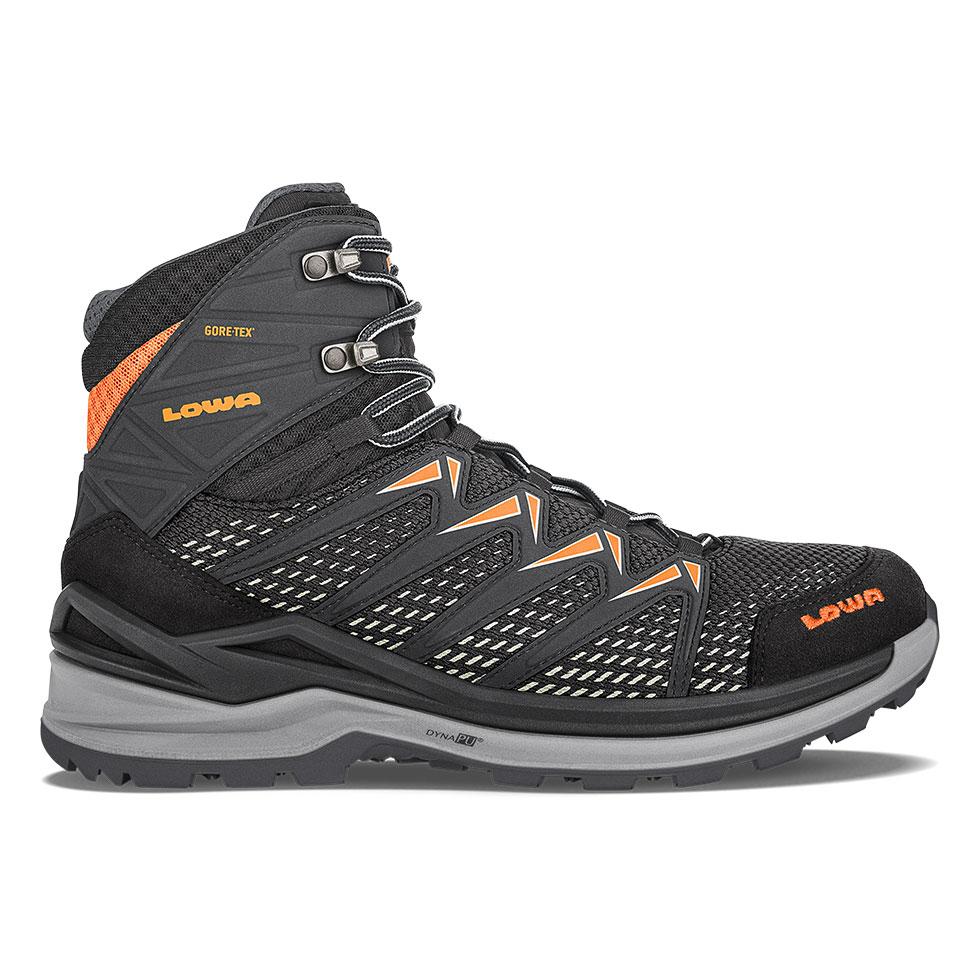 Innox Pro Gtx Mid Black Orange Lowa Boots Usa