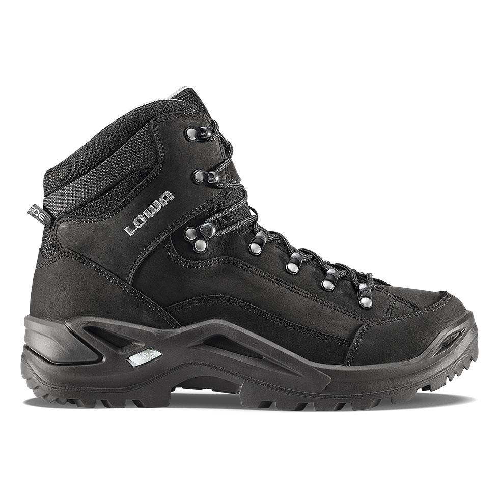 Detaillierung 100% Qualitätsgarantie verschiedene Farben Renegade LL Mid-Black | LOWA Boots USA
