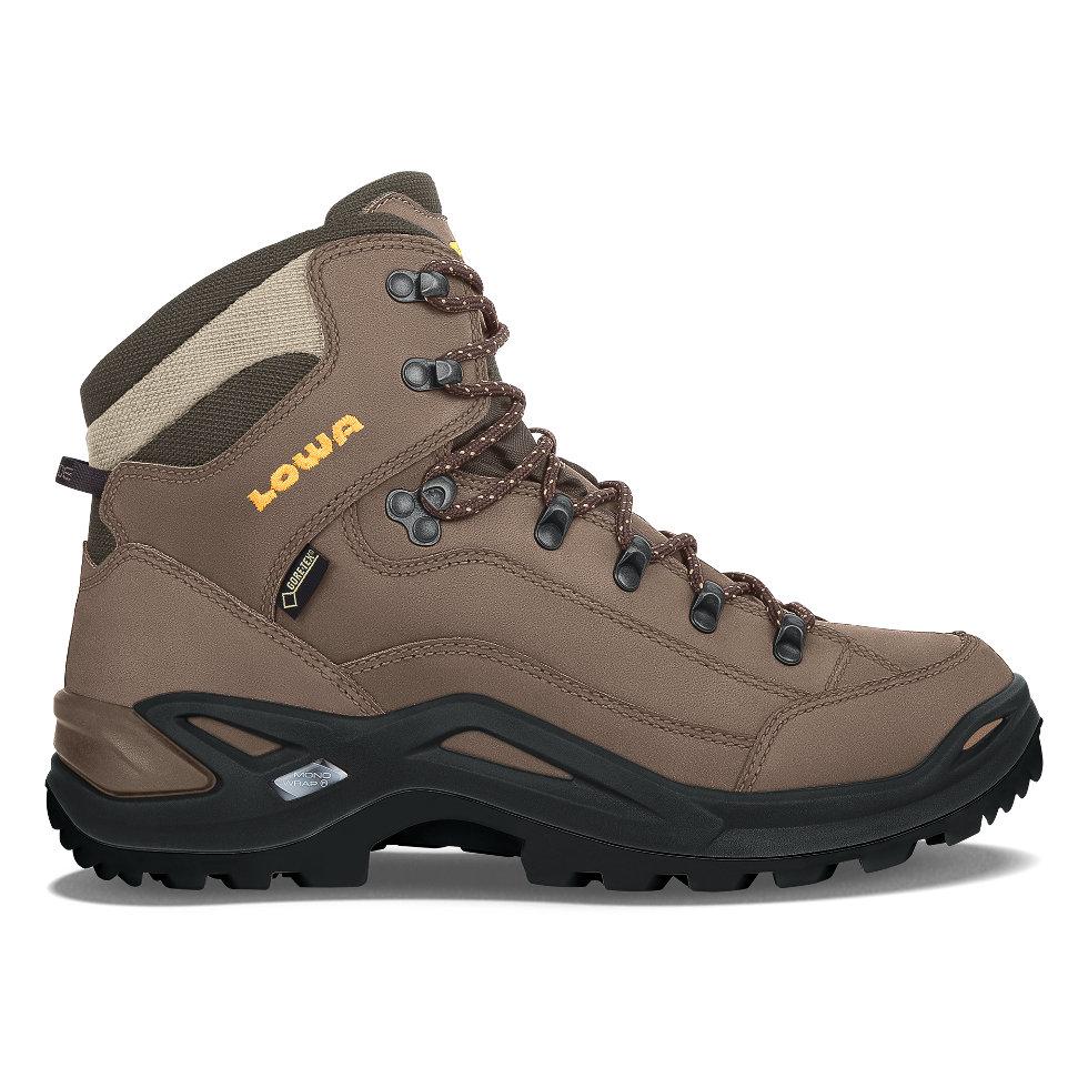 Lowa Men's Renegade GTX Mid Hiking BootSepia/Sepia9.5 W US